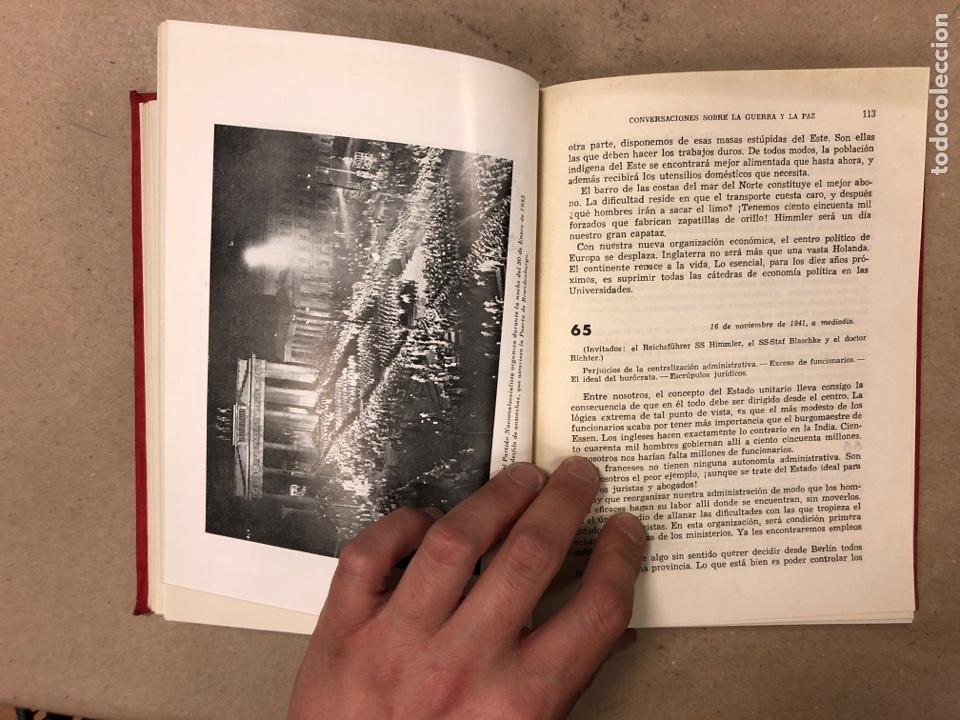 Libros de segunda mano: ADOLF HITLER. CONVERSACIONES SOBRE LA GUERRA Y LA PAZ (2 TOMOS, 1941-1942 y 1942-1944). LUIS DE CAR - Foto 8 - 168622984