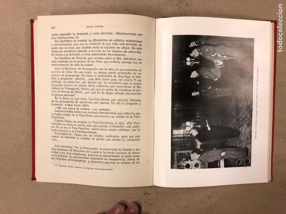 Libros de segunda mano: ADOLF HITLER. CONVERSACIONES SOBRE LA GUERRA Y LA PAZ (2 TOMOS, 1941-1942 y 1942-1944). LUIS DE CAR - Foto 9 - 168622984
