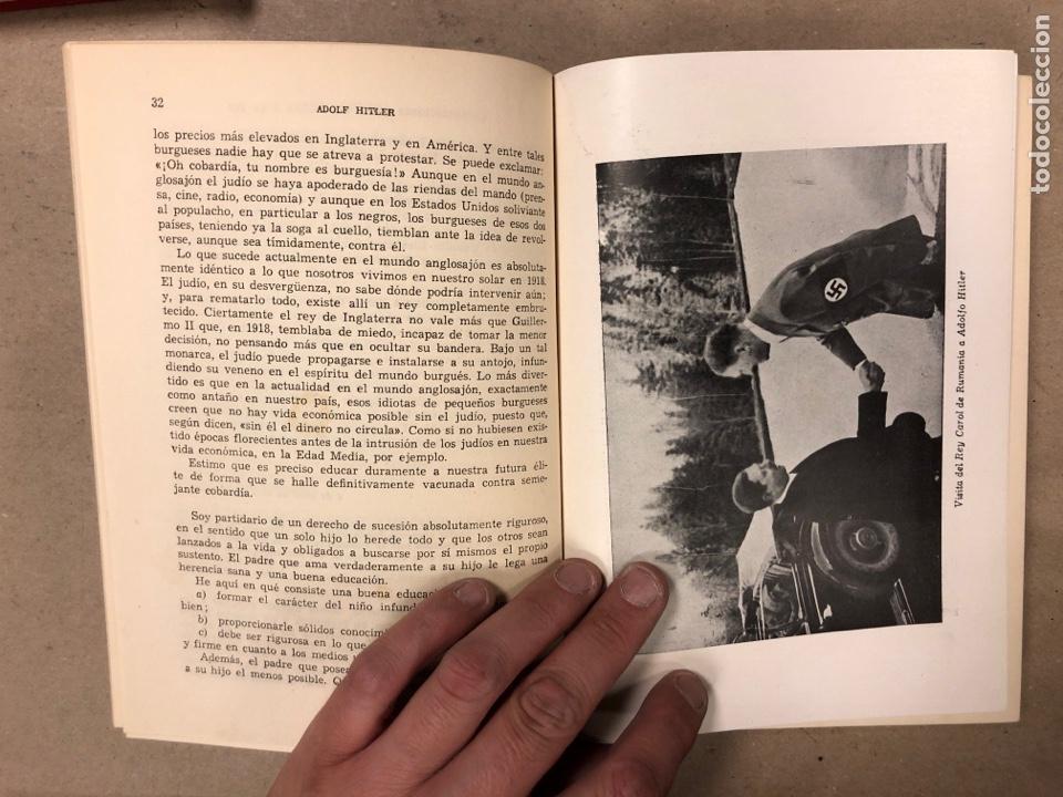 Libros de segunda mano: ADOLF HITLER. CONVERSACIONES SOBRE LA GUERRA Y LA PAZ (2 TOMOS, 1941-1942 y 1942-1944). LUIS DE CAR - Foto 15 - 168622984