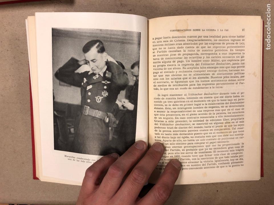 Libros de segunda mano: ADOLF HITLER. CONVERSACIONES SOBRE LA GUERRA Y LA PAZ (2 TOMOS, 1941-1942 y 1942-1944). LUIS DE CAR - Foto 16 - 168622984