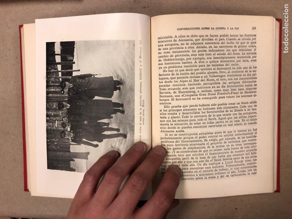 Libros de segunda mano: ADOLF HITLER. CONVERSACIONES SOBRE LA GUERRA Y LA PAZ (2 TOMOS, 1941-1942 y 1942-1944). LUIS DE CAR - Foto 17 - 168622984