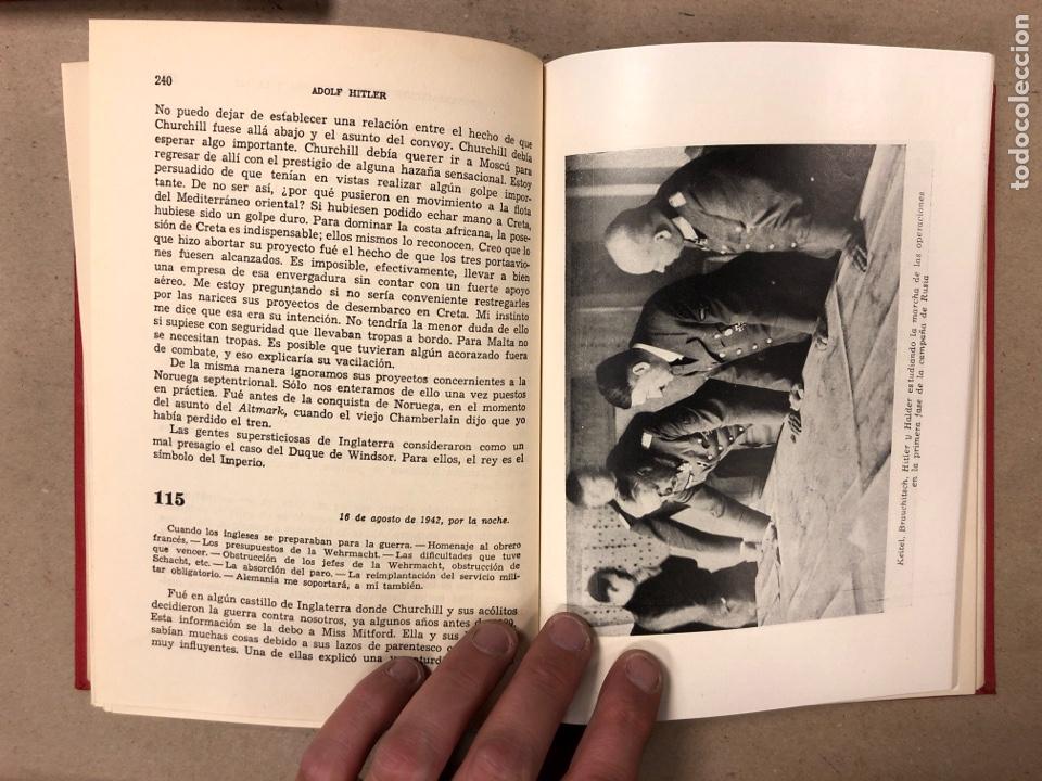 Libros de segunda mano: ADOLF HITLER. CONVERSACIONES SOBRE LA GUERRA Y LA PAZ (2 TOMOS, 1941-1942 y 1942-1944). LUIS DE CAR - Foto 18 - 168622984
