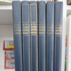 Libros de segunda mano: COLECCION COMPLETA ASI FUE LA SEGUNDA GUERRA MUNDIAL - 6 TOMOS - EDITORIAL NOGUER. Lote 169316600