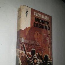 Libros de segunda mano: SVEN HASSEL . - MONTE CASINO. Lote 169739232