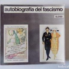 Libros de segunda mano: LIBRERIA GHOTICA. ENZO NIZZA. AUTOBIOGRAFIA DEL FASCISMO. 1977. FOLIO. MUY ILUSTRADO.. Lote 169746784