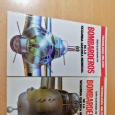 Libros de segunda mano: GUIA ILUSTRADA DE BOMBARDEROS DE LA SEGUNDA GUERRA MUNDIAL (I-II). ORBIS. Lote 170207608