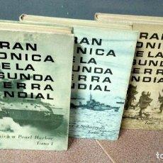 Libros de segunda mano: GRAN CRÓNICA DE LA 2ª GUERRA MUNDIAL. Lote 171549964