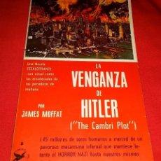 Libros de segunda mano: LA VENGANZA DE HITLER. Lote 172726763
