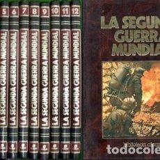Libros de segunda mano: LA SEGUNDA GUERRA MUNDIAL. BIBLIOTECA ALCAR. 12 TOMOS - DIRECTOR: DEL POZO, MARIANO - A-GUE-2501. Lote 173927875