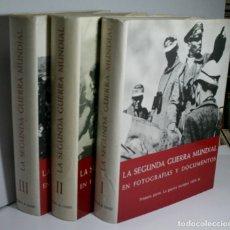 Libros de segunda mano: LA SEGUNDA GUERRA MUNDIAL EN FOTOGRAFÍAS Y DOCUMENTOS. JACOBSEN HANS-ADOLF Y DOLLINGER HANS. 1973. Lote 173981657