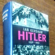 Libros de segunda mano: HITLER 1936 - 1945. IAN KERSHAW. CIRCULO. BIOGRAFÍA. HISTORIA. Lote 174002937