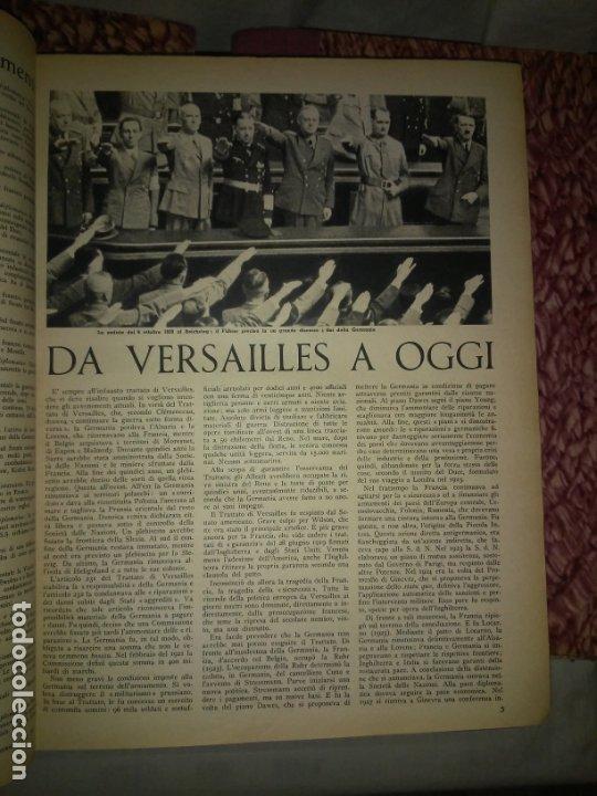 Libros de segunda mano: CRONACHE DELLA GUERRA - REVISTAS ORIGINALES II GUERRA MUNDIAL 1939-1943. - Foto 4 - 174522113