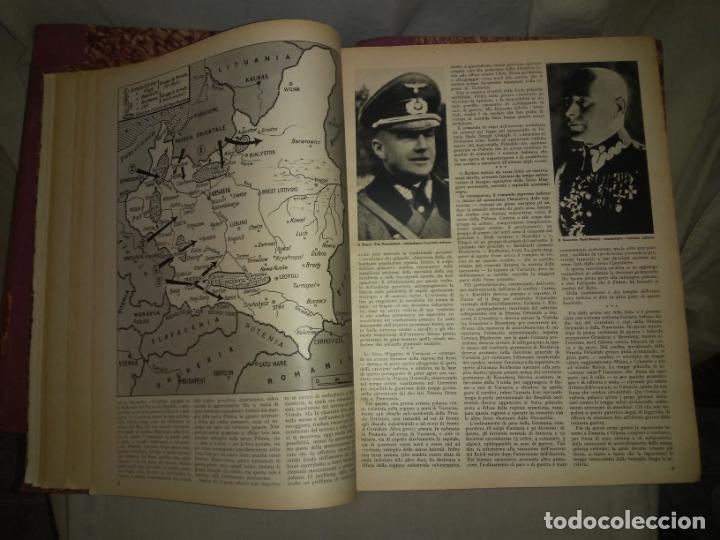 Libros de segunda mano: CRONACHE DELLA GUERRA - REVISTAS ORIGINALES II GUERRA MUNDIAL 1939-1943. - Foto 6 - 174522113