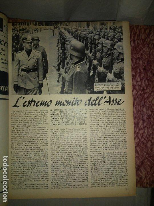 Libros de segunda mano: CRONACHE DELLA GUERRA - REVISTAS ORIGINALES II GUERRA MUNDIAL 1939-1943. - Foto 11 - 174522113