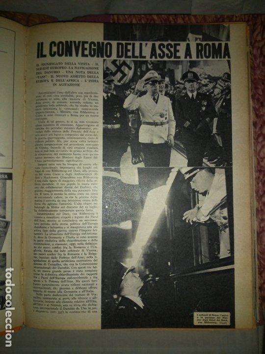 Libros de segunda mano: CRONACHE DELLA GUERRA - REVISTAS ORIGINALES II GUERRA MUNDIAL 1939-1943. - Foto 13 - 174522113