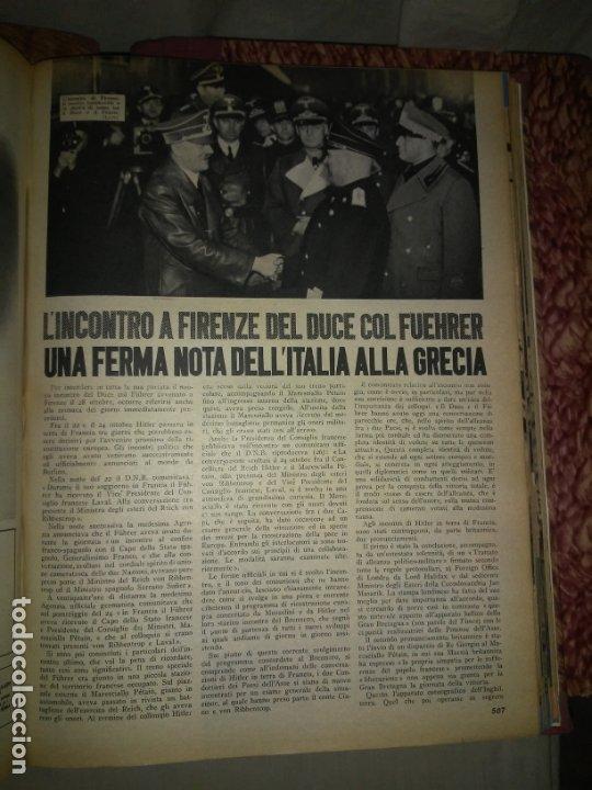 Libros de segunda mano: CRONACHE DELLA GUERRA - REVISTAS ORIGINALES II GUERRA MUNDIAL 1939-1943. - Foto 14 - 174522113