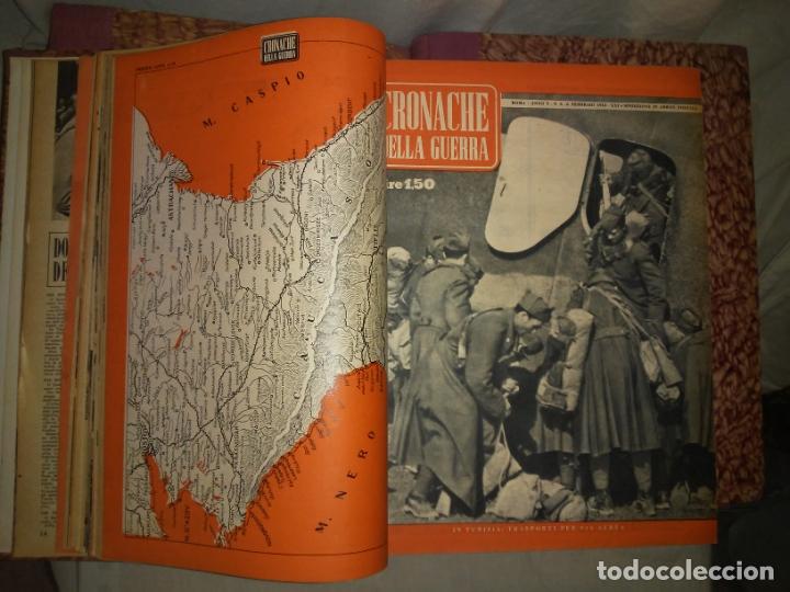 Libros de segunda mano: CRONACHE DELLA GUERRA - REVISTAS ORIGINALES II GUERRA MUNDIAL 1939-1943. - Foto 15 - 174522113