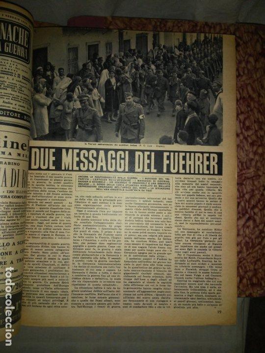 Libros de segunda mano: CRONACHE DELLA GUERRA - REVISTAS ORIGINALES II GUERRA MUNDIAL 1939-1943. - Foto 16 - 174522113