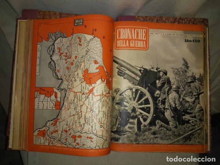 Libros de segunda mano: CRONACHE DELLA GUERRA - REVISTAS ORIGINALES II GUERRA MUNDIAL 1939-1943. - Foto 17 - 174522113