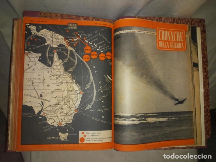 Libros de segunda mano: CRONACHE DELLA GUERRA - REVISTAS ORIGINALES II GUERRA MUNDIAL 1939-1943. - Foto 20 - 174522113