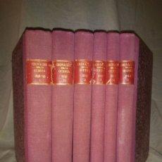 Libros de segunda mano: CRONACHE DELLA GUERRA - REVISTAS ORIGINALES II GUERRA MUNDIAL 1939-1943.. Lote 174522113