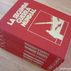 Libros de segunda mano: CRÓNICA MILITAR Y POLÍTICA DE LA SEGUNDA GUERRA MUNDIAL. ED. SARPE. 1978. 6 VOLÚMENES.. Lote 177212117