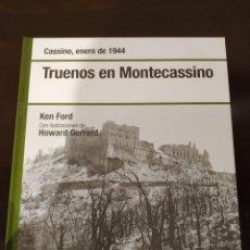 Libros de segunda mano: TRUENOS EN MONTECASSINO -ENERO 1944- BIBLIOTECA OSPREY SEGUNDA GUERRA MUNDIAL -2008-. Lote 177622154