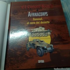 Libros de segunda mano: EL TERCER REICH AFRIKACORPS LIBRO. Lote 178047119