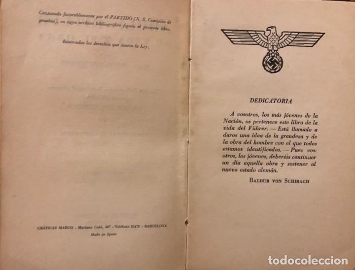 Libros de segunda mano: Hitler su vida y su obra. Erich Beier-Lindhardt. Editorial Orbis (Reinhold Wetzig) 1940 - Foto 2 - 178065994