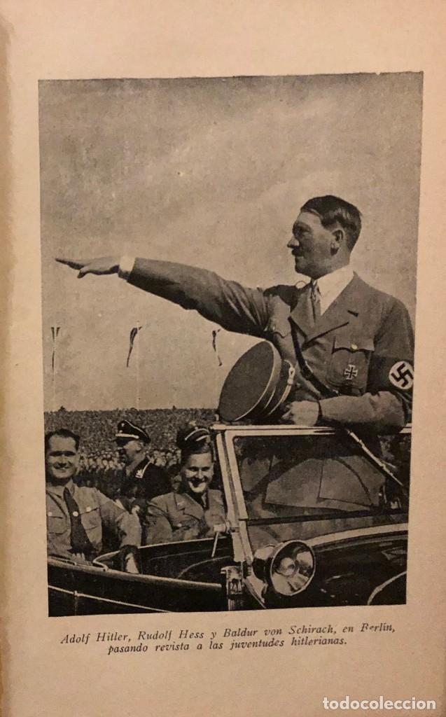 Libros de segunda mano: Hitler su vida y su obra. Erich Beier-Lindhardt. Editorial Orbis (Reinhold Wetzig) 1940 - Foto 4 - 178065994