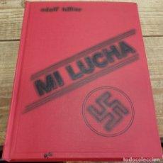 Libros de segunda mano: MEIN KAMPF. MI LUCHA. ADOLF HITLER. EDITORIAL DEL CENTRAL DEL PARTIDO NACIONALSOCIALISTA, CIRCA 1937. Lote 178213688