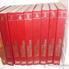 Libros de segunda mano: LA SEGUNDA GUERRA MUNDIAL DE EDICIONES SARPE, 8 TOMOS COMPLETOS. Lote 179107288
