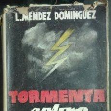 Libros de segunda mano: MÉNDEZ DOMÍNGUEZ. TORMENTA SOBRE FRANCIA. 1944. Lote 179115930