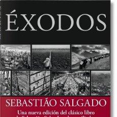 Libros de segunda mano: SEBASTIÃO SALGADO ÉXODOS. Lote 179246347