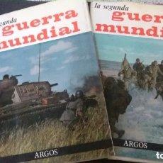 Libros de segunda mano: LA SEGUNDA GUERRA MUNDIAL-2 TOMOS-COMPLETA-JOSÉ FERNANDO AGUIRRE-EDITORIAL ARGOS. Lote 179310310