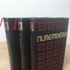 Libros de segunda mano: NURENBERG. CIRCULO DE AMIGOS DE LA HISTORIA. BERNARD MICHAL. TRES TOMOS. OBRA COMPLETA. SÍMIL PIEL.. Lote 179316393