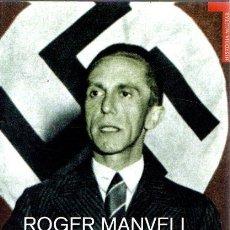 Libros de segunda mano: ROGER MANVELL: DOCTOR GOEBBELS.. Lote 180026900