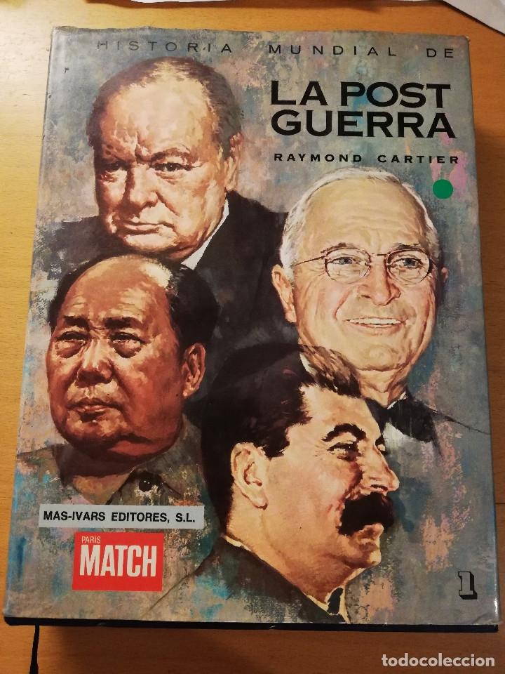 HISTORIA MUNDIAL DE LA POSTGUERRA (RAYMOND CARTIER) TOMO 1 (1945 - 1953) (Libros de Segunda Mano - Historia - Segunda Guerra Mundial)