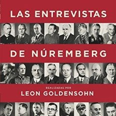 Libros de segunda mano: LEÓN GOLDENSOHN: LAS ENTREVISTAS DE NÚREMBERG.. Lote 180109077