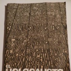 Libros de segunda mano: EL HOLOCAUSTO. YAD VASHEM JERUSALEM. W. TURNOWSKY & SON LTD. 1975 EN ESPAÑOL. Lote 180129998
