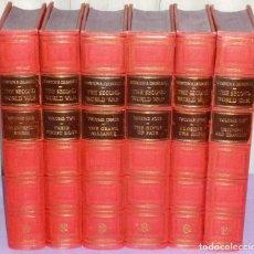Libros de segunda mano: LA SEGUNDA GUERRA MUNDIAL (6 TOMOS). Lote 180431532