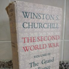 Libros de segunda mano: WINSTON CHURCHILL.THE SECOND WORLD WAR VOLUME III.THE GRAND ALIANCE.CASSELL.. Lote 180831861