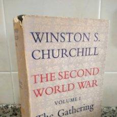 Libros de segunda mano: WINSTON CHURCHILL.THE SECOND WORLD WAR VOLUME I.THE GATHERING STORM.CASSELL.. Lote 180835675