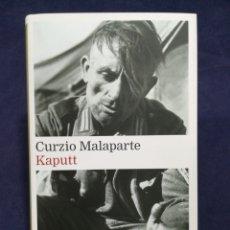 Libros de segunda mano: KAPUTT - CURZIO MALAPARTE - GALAXIA GUTENBERG. Lote 182766047