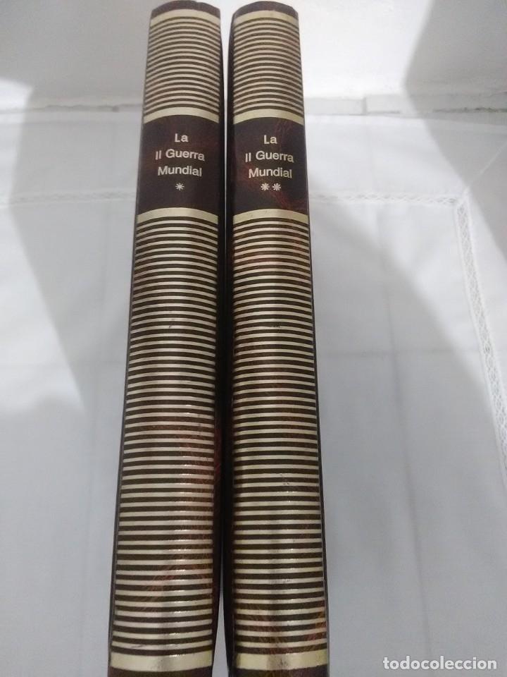 Libros de segunda mano: La II Guerra Mundial. (2 volúmenes). ABC. Colección de fascículos encuadernados. - Foto 2 - 183421508