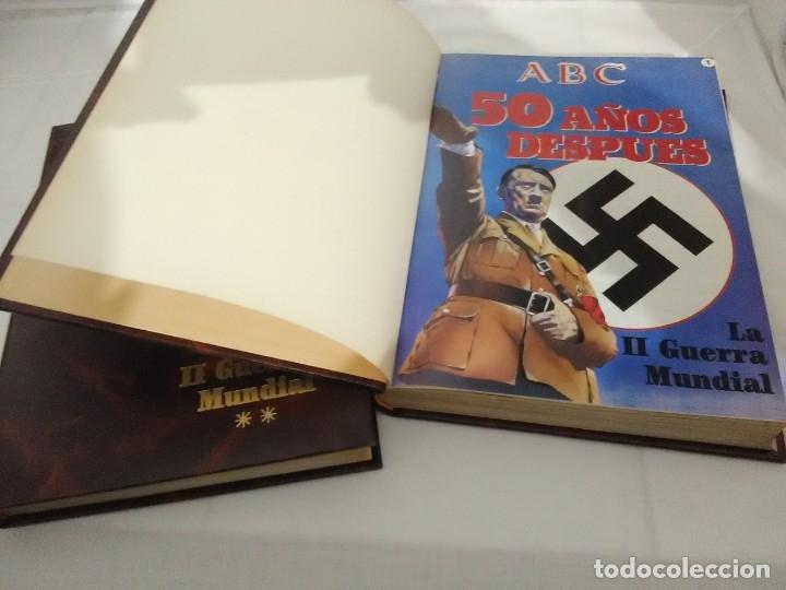 Libros de segunda mano: La II Guerra Mundial. (2 volúmenes). ABC. Colección de fascículos encuadernados. - Foto 3 - 183421508