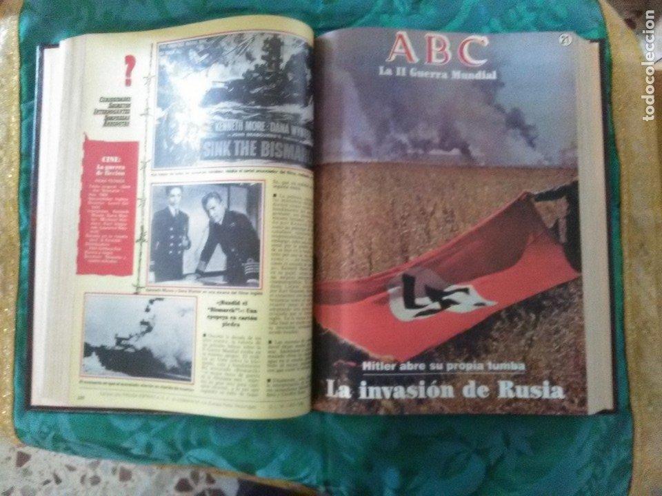 Libros de segunda mano: La II Guerra Mundial. (2 volúmenes). ABC. Colección de fascículos encuadernados. - Foto 4 - 183421508