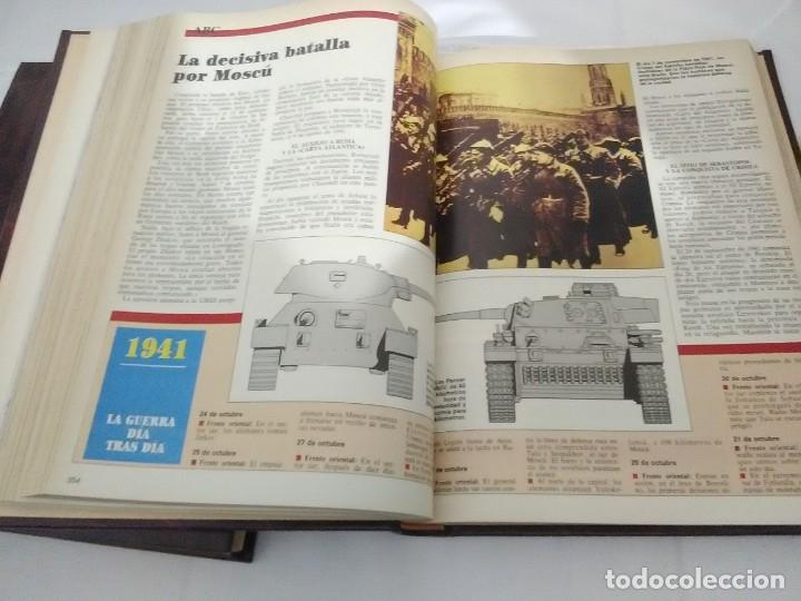Libros de segunda mano: La II Guerra Mundial. (2 volúmenes). ABC. Colección de fascículos encuadernados. - Foto 5 - 183421508