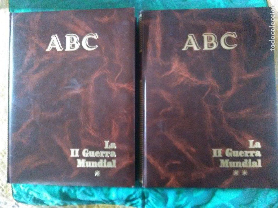 LA II GUERRA MUNDIAL. (2 VOLÚMENES). ABC. COLECCIÓN DE FASCÍCULOS ENCUADERNADOS. (Libros de Segunda Mano - Historia - Segunda Guerra Mundial)