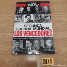 Libros de segunda mano: SEGUNDA GUERRA MUNDIAL LOS VENCEDORES. Lote 184697975